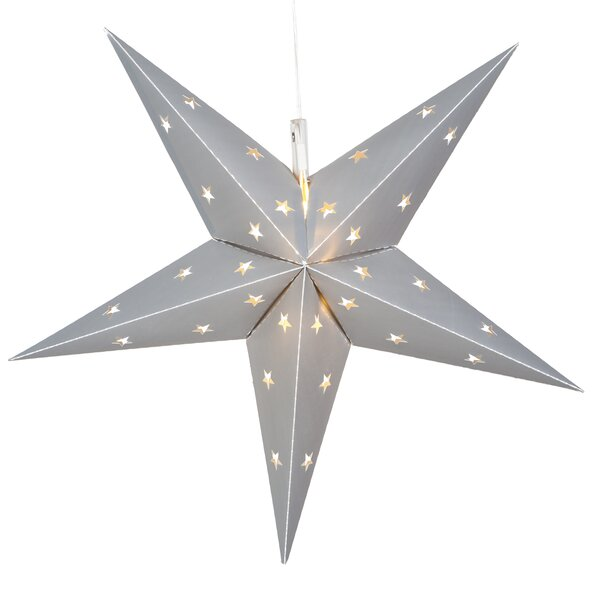 LED 12 Light Indoor/Outdoor Star Lighting by The Holiday Aisle