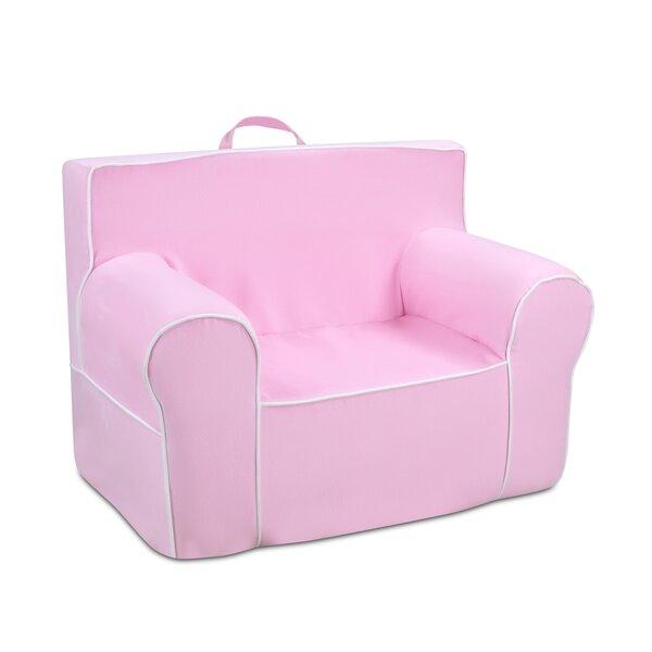 Durand Kids Microfiber Foam Chair by Zoomie Kids