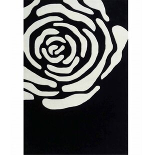 Order Transition Black/White Area Rug By Rug Factory Plus