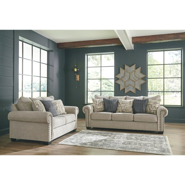 Zarina 2 Piece Configurable Living Room Set by Charlton Home