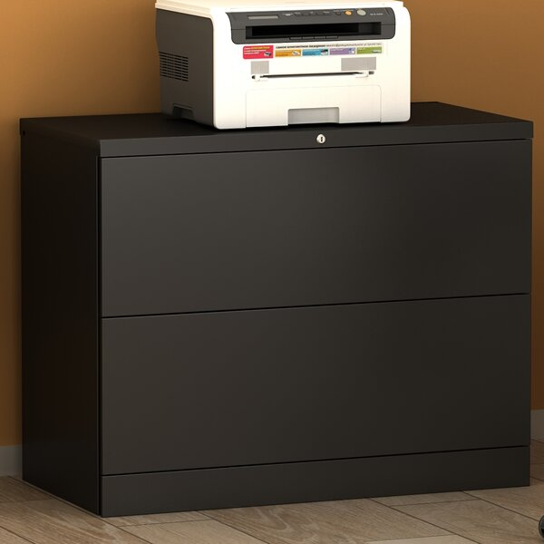 Anti-Tilt 2-Drawer Lateral Filing Cabinet