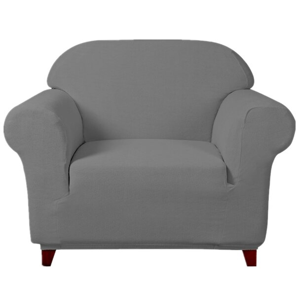 Ultra Soft Stretch Fabric Armchair Slipcovers Removable Anti-dirty Fitted Furniture Protector By Winston Porter