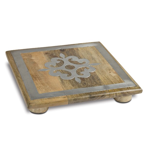 Wood Trivet by The GG Collection