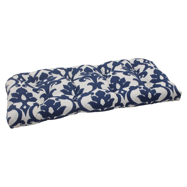 Edmond Indoor/Outdoor Loveseat Cushion by Darby Home Co