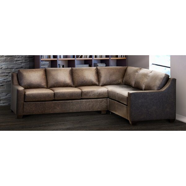 Outstanding Full Grain Leather Sectional Wayfair Inzonedesignstudio Interior Chair Design Inzonedesignstudiocom