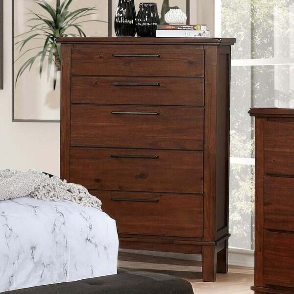 Crissyfield 5 Drawer Chest by Union Rustic