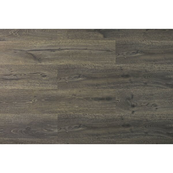 Aditya 8 x 72 x 11.93mm Oak Laminate Flooring in Modest Brown by Serradon
