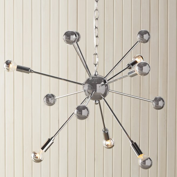 Kalman Matrix 6-Light Sputnik Chandelier by Langley Street