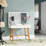 Krug Vanity with Mirror by Ebern Designs