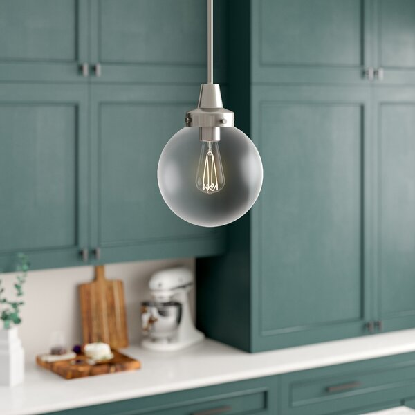Tristin 1-Light Globe Pendant by Langley Street