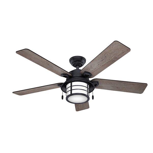 54 Key Biscayne 5 Blade Outdoor Ceiling Fan by Hunter Fan