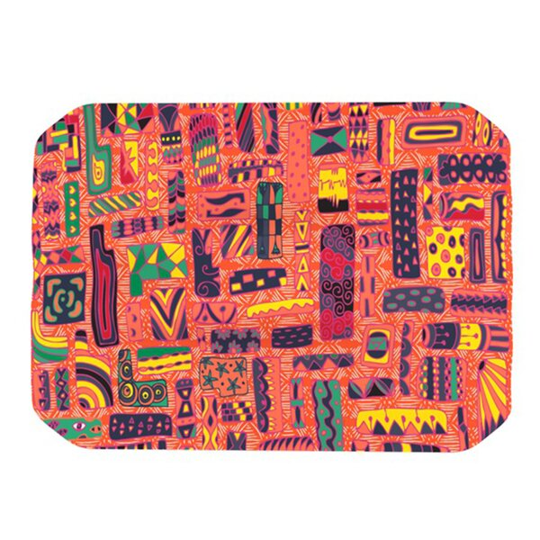 Squares Placemat by KESS InHouse