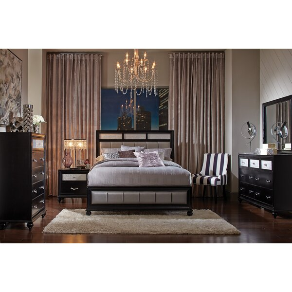 Lawlor Upholstered Standard Bed by House of Hampton