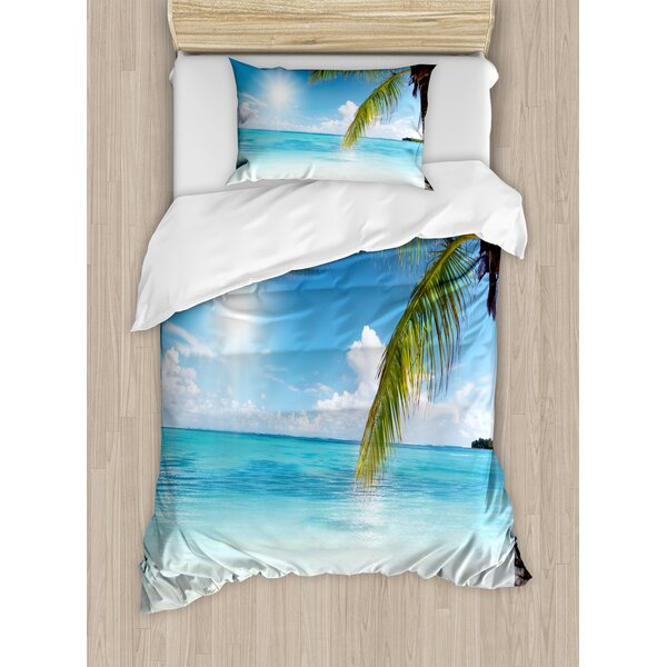 Summer Duvet Cover Set by Ambesonne