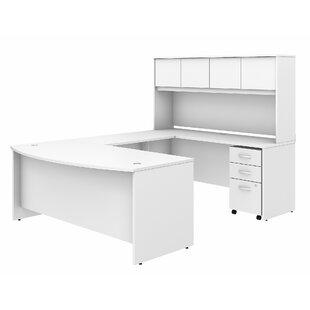 Studio C 5 Piece U-Shaped Desk Office Suite ByBush Business Furniture