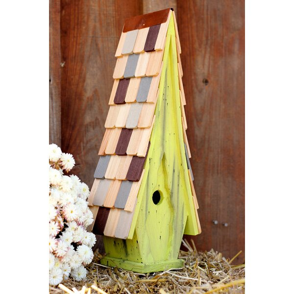 High 21 in x 6 in x 6 in Birdhouses by Heartwood