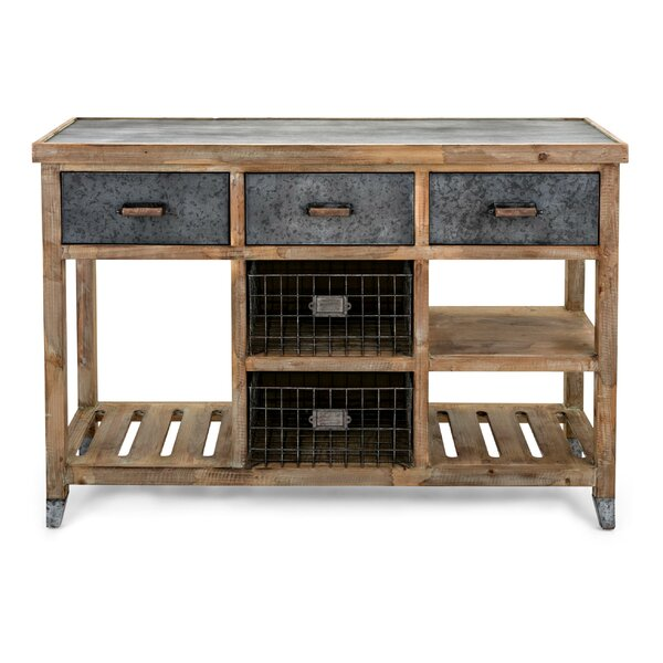 Review Sturm Wood And Metal Console Table