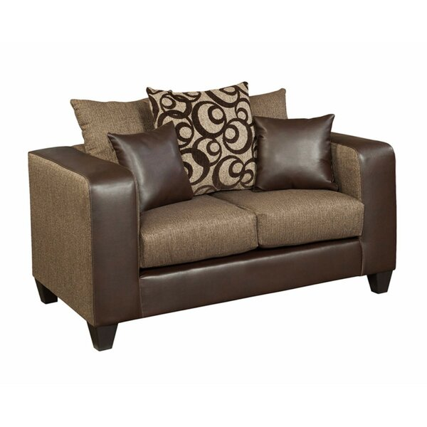 Paleczny Chenille Loveseat by Ebern Designs