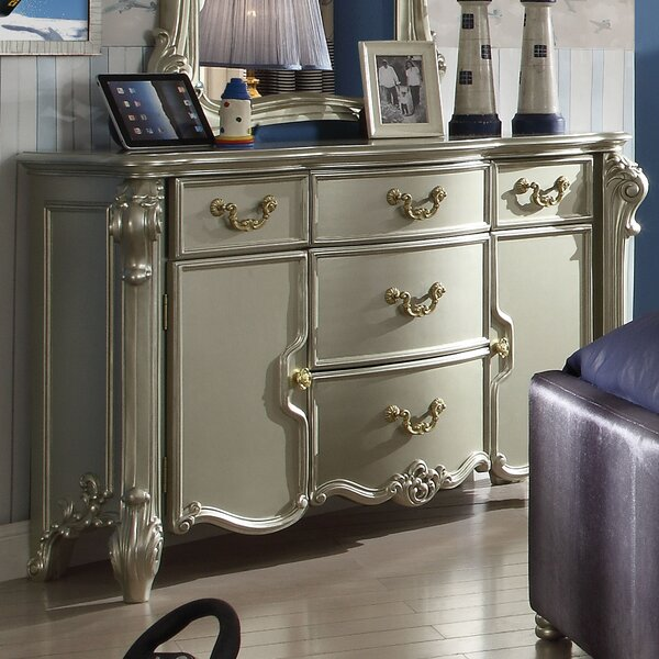 Welty 5 Drawer Combo dresser by Astoria Grand