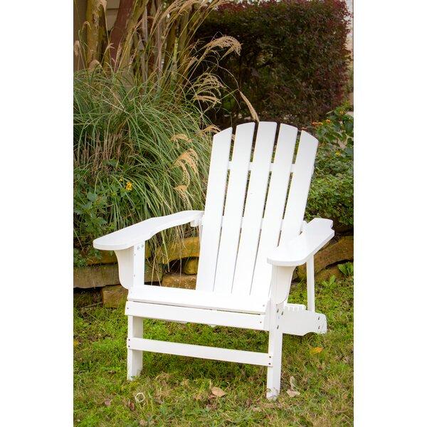 Kalista Wood Adirondack Chair by Highland Dunes Highland Dunes