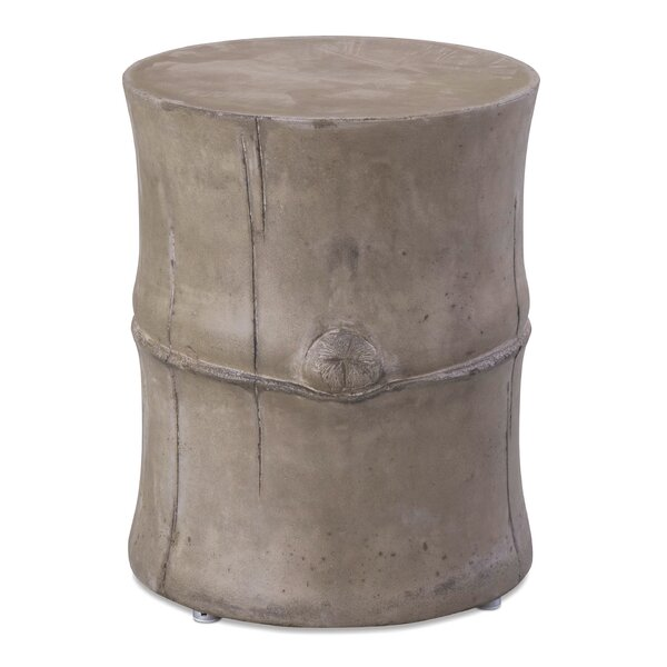 Perpetual Bamboo Accent Stool by Seasonal Living