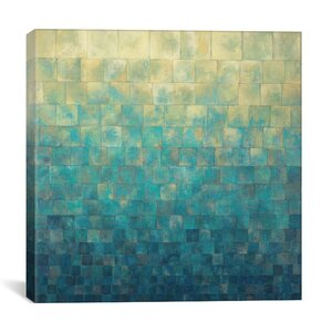 Cascade by Janelle Kroner Graphic Art on Wrapped Canvas by Brayden Studio