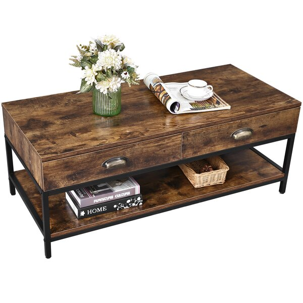 Elmira Coffee Table with Storage by Williston Forge