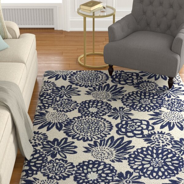 Kolar Hand-Tufted Blue Area Rug by Alcott Hill