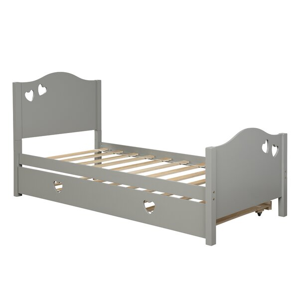 Lis Twin Platform Bed with Trundle by Latitude Run