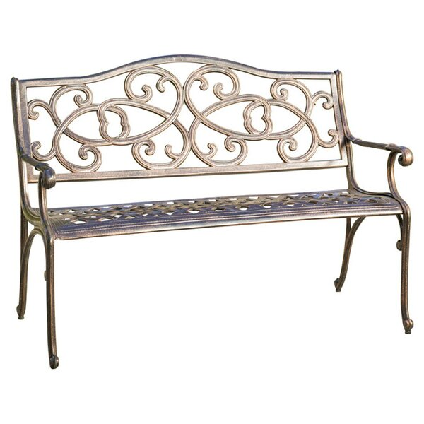 Northwoods Cast Outdoor Bench by August Grove