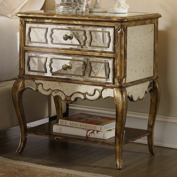 Sanctuary 2 Drawer Nightstand by Hooker Furniture
