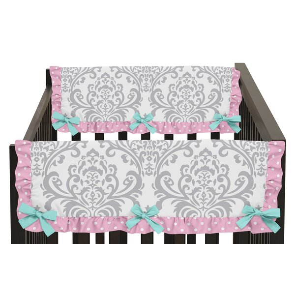 Skylar Side Crib Rail Guard Cover (Set of 2) by Sweet Jojo Designs