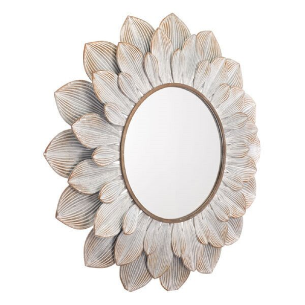 Hollow Tree Cassandra Distressed Accent Mirror by Bungalow Rose