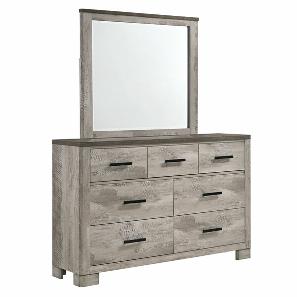 Greenbriar 7 Drawer Dresser with Mirror by Gracie Oaks
