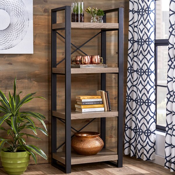 Cash Etagere Bookcase By Ivy Bronx Best Choices