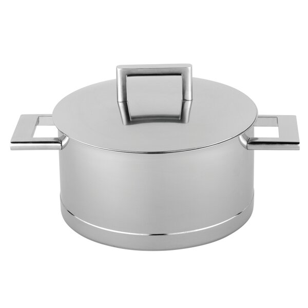 John Pawson Stainless Steel Dutch Oven by Demeyere
