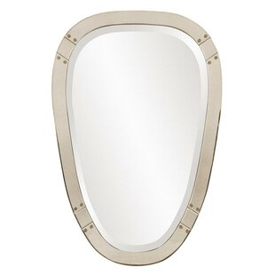 Brayden Studio Tapered Oval Wall Mirror