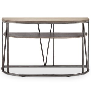 Coppock Modern Demilune Console Table by Brayden Studio