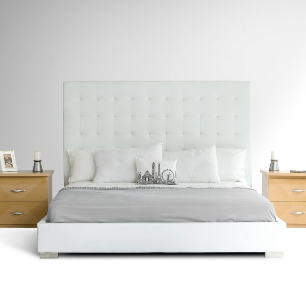 Febus Upholstered Platform Bed by Orren Ellis