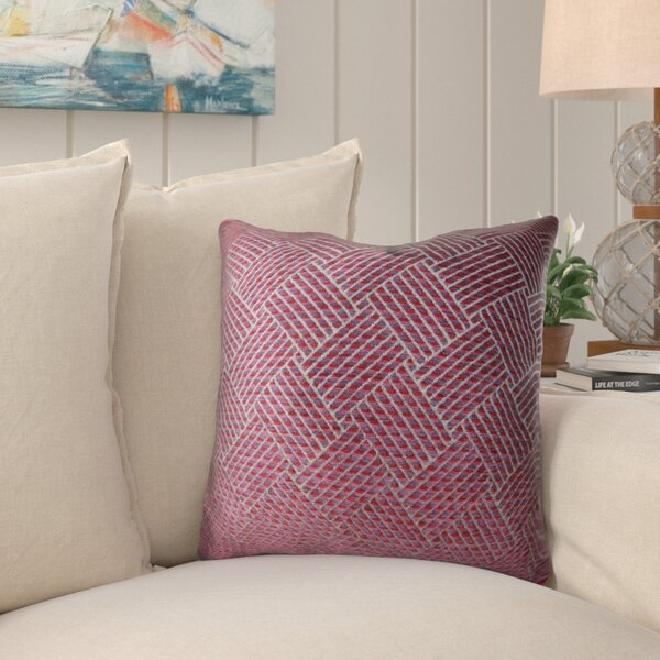 Kymani Handmade Luxury Pillow by Bayou Breeze
