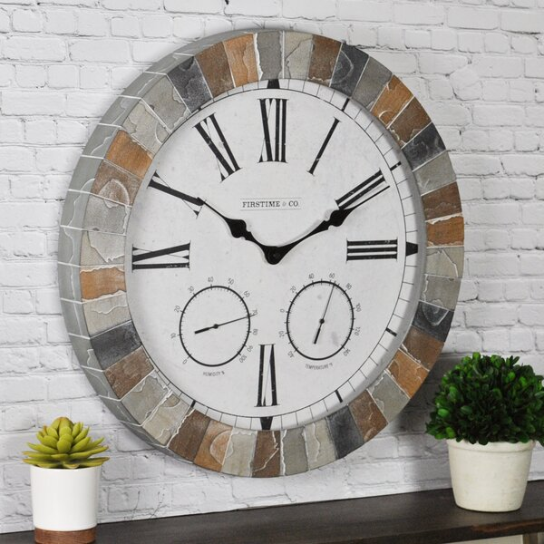 Garden 18 Wall Clock by FirsTime