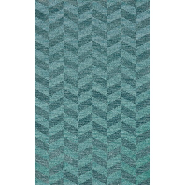 Bella Machine Woven Wool Blue Area Rug by Dalyn Rug Co.