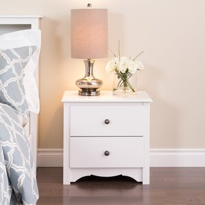 Sybil 2 Drawer Nightstand by Andover Mills