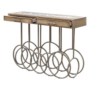 Manya Stone Mosaic Console Table