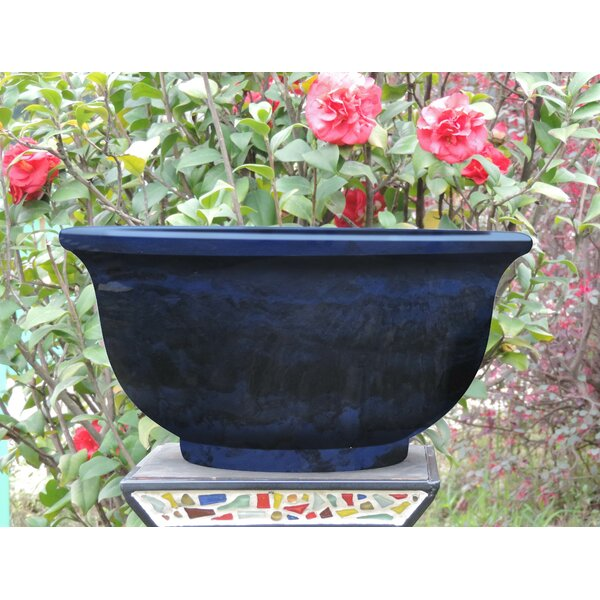 Fiber Clay Pot Planter by Griffith Creek Designs