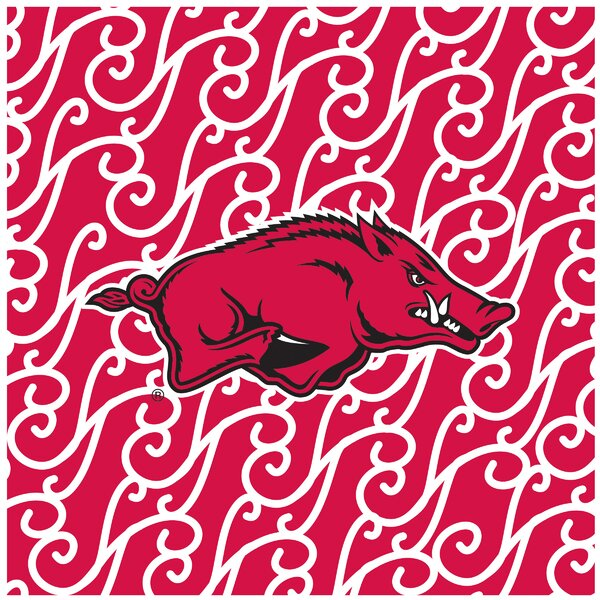 University of Arkansas Square Occasions Trivet by Thirstystone