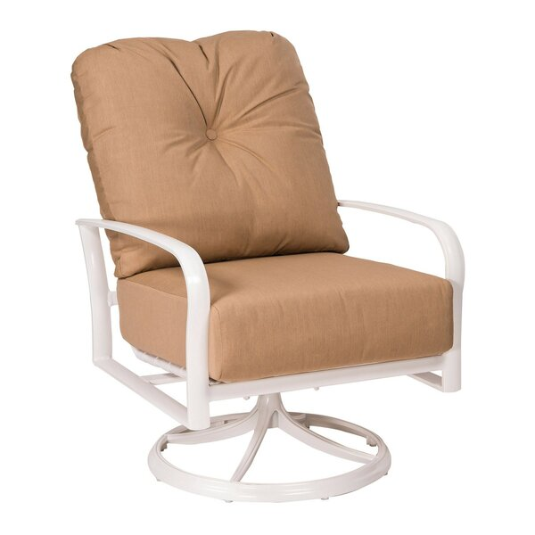 Fremont Swivel Rocking Chair with Cushions by Woodard