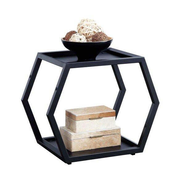 Morphis Honeycomb Geometric Bookcase By Wrought Studio