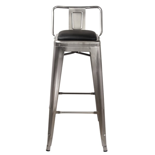 Mcspadden Low Back 30 Bar Stool (Set of 2) by Williston Forge