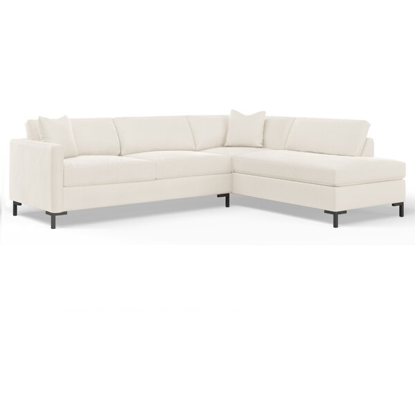Dawson Reversible Sectional by Wayfair Custom Upholstery Wayfair Custom Upholstery™